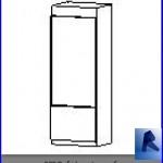 Familias para Revit | Electrodomesticos | 030 Refrigerador modelo 28