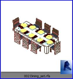 mesas con sillas 002