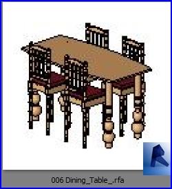 mesas con sillas 006