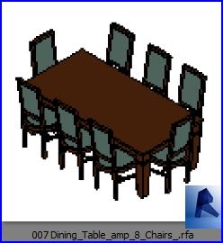mesas con sillas 007