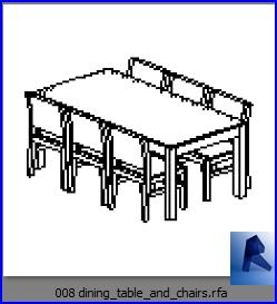 mesas con sillas 008