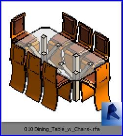 mesas con sillas 010