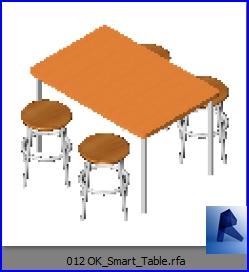 mesas con sillas 012