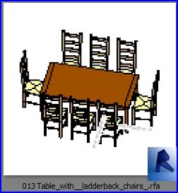 mesas con sillas 013