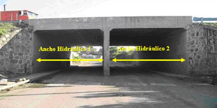 30 puentes y pontones - ancho hidraulico