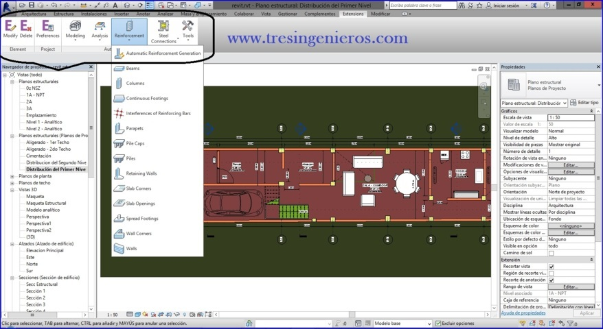 Autodesk Revit Extensions 2016 - Enlace directo - 1 link - 3 Ing