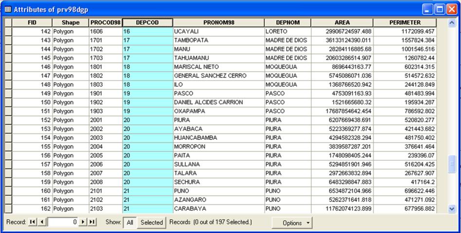 datos 01 - tabla de atributos