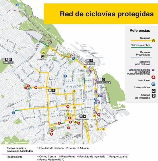 transporte sostenible 169 - soluciones buscadas B.aires