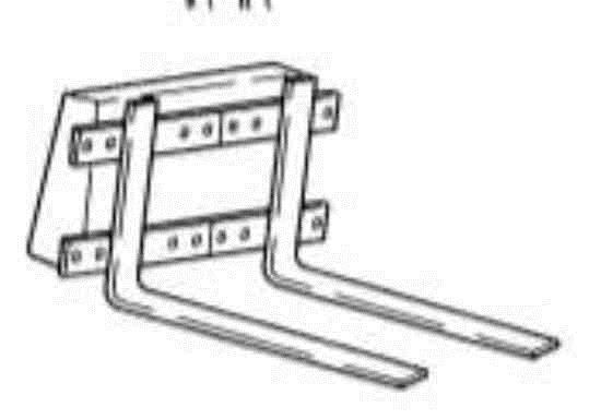 34 accesorios y cucharones de los cargadores - horquillas de elevacion