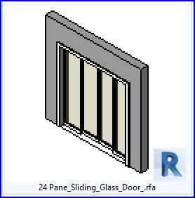 familias para revit 37 puertas corredizas 24 panel de On puertas corredizas revit