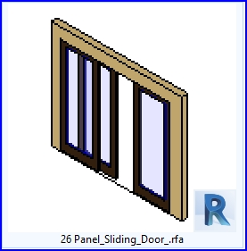 familias para revit 37 puertas corredizas 26 panel de On puertas corredizas revit