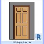 Familias para Revit   38 Puertas de 1 hoja   010 Grado de puerta .rfa