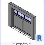 Familias para Revit   43 puertas de garaje   07 puerta de garaje .rfa
