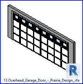 13 de arriba de la puerta del garage de la pradera.diseño .rfa
