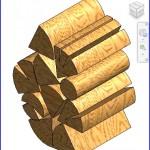 Familias para Revit | 56 Varios | 0223 madera para la chimenea  .rfa