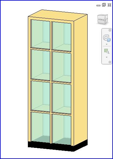 0260 Display Case.rfa