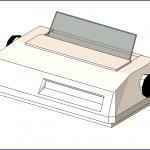 Familias para Revit   56 Varios   0266 impresora de matriz de puntos (iii).rfa