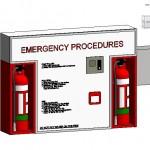Familias para Revit | 56 Varios | 0319 Fuego Junta proceedure emergencia .rfa